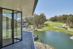 WoodN sunshades - Cranbrook Residences Bella Vista in Sydney