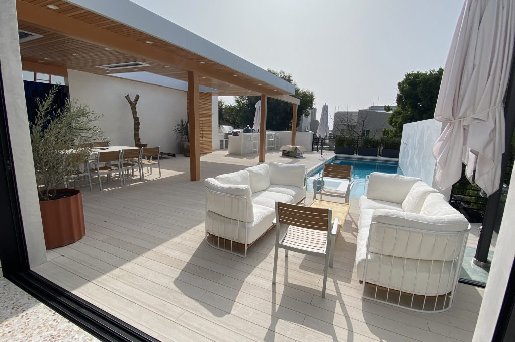 WoodN decking- villa privata - private villa - WoodN Industries - Malibu USA 4