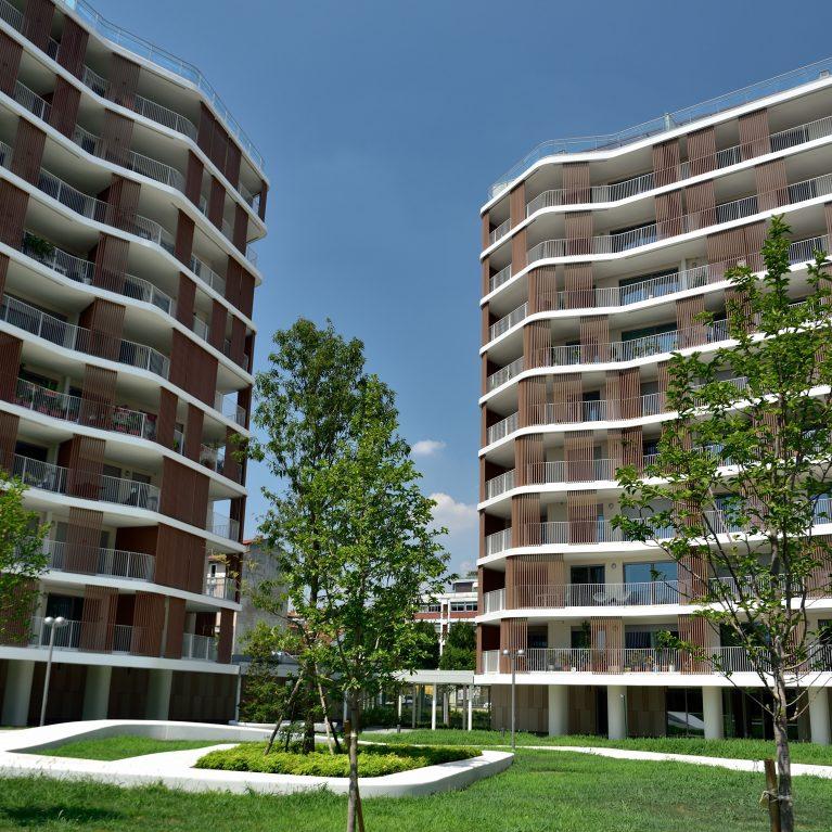 I frangisole WoodN Industries ridisegnano lo skyline di Milano