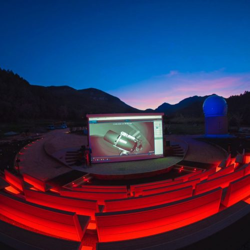 Astronomical observatory - Albanyà, Spain - Decking Plug&Play Greenwood