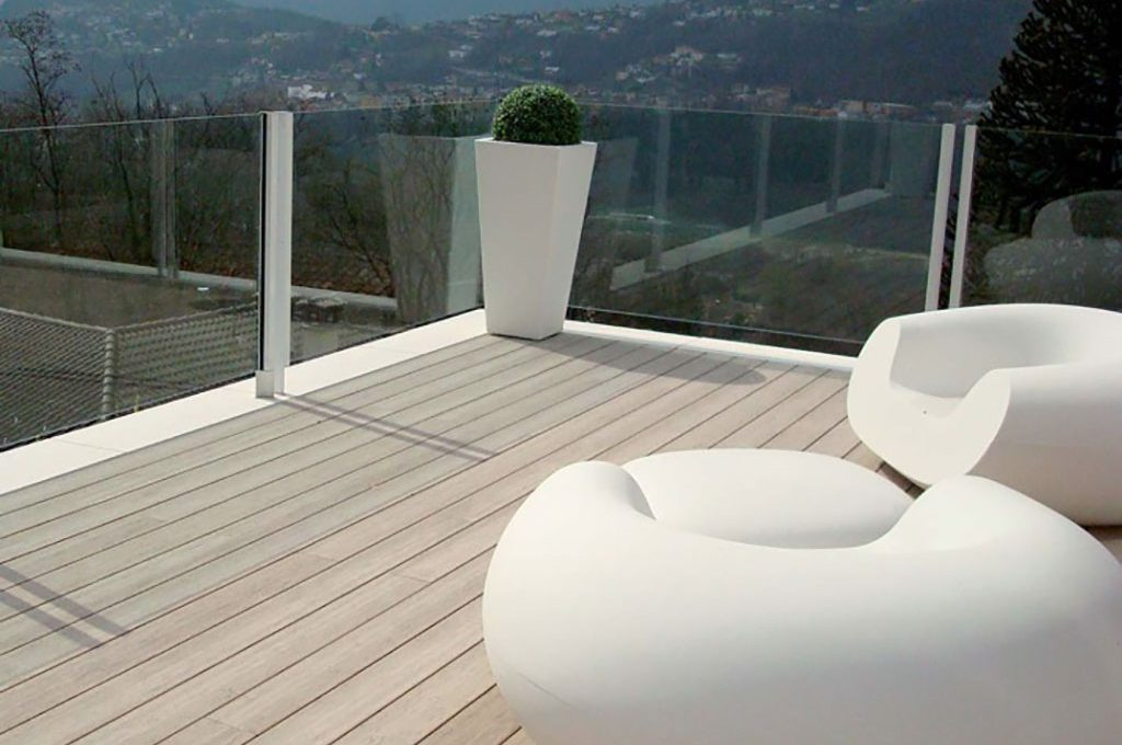 Decking In Private Residence In Cadro Switzerland Woodn