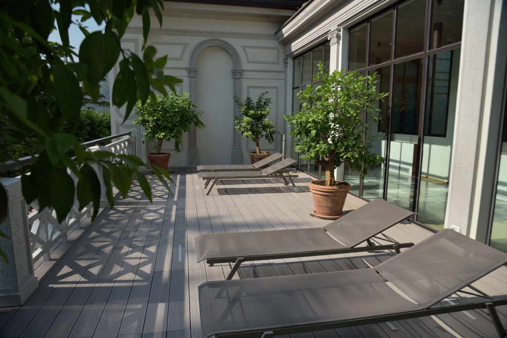 composite wood terrace decking Greenwood