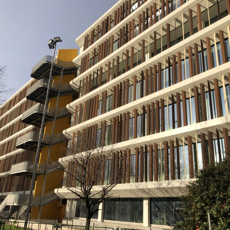 Generali SRG renovates its Milan offices with WoodNs' louver screens