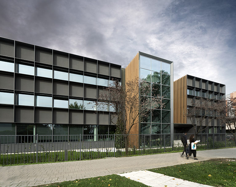 WoodN façades for the CMR Project Architecture Studio