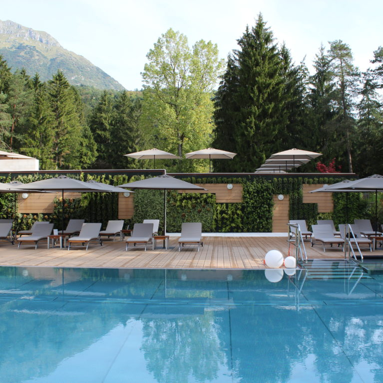 A beautiful and eco-compatible solution for the Terme di Comano