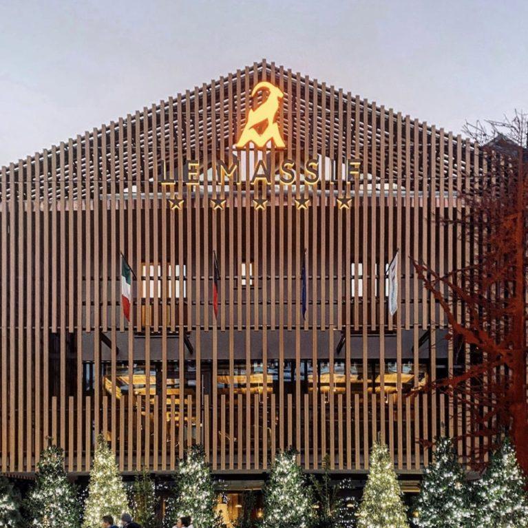 I nostri frangisole per l'Hotel Le Massif a Courmayeur
