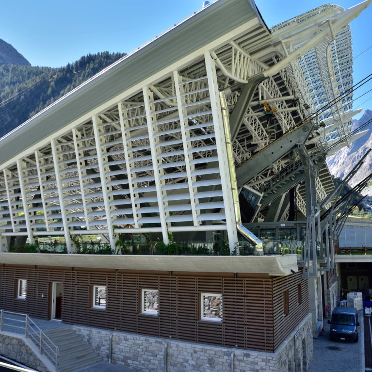 WoodN's outdoor cladding was selected for an engineering challenge on Mont Blanc
