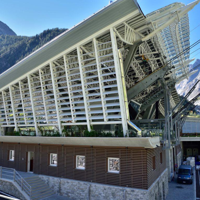 I frangisole WoodN Industries sfidano il Monte Bianco
